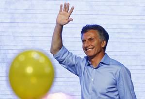 Mauricio Macri, novo presidente da Argentina Foto: ENRIQUE MARCARIAN / REUTERS
