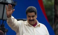 O presidente Nicolas Maduro, em foto de arquivo Foto: Fernando Llano / AP