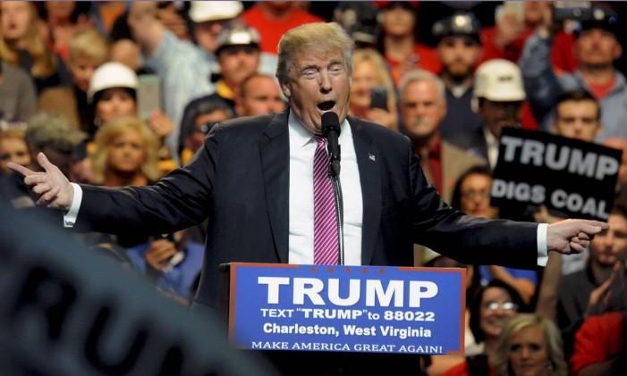 Trump não se importa com mudar o discurso ao longo da campanha Foto: CHRIS TILLEY / REUTERS