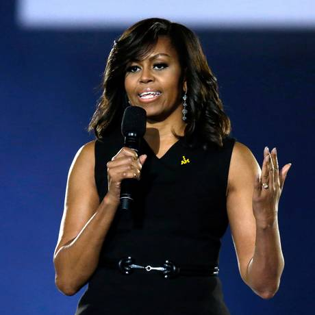 Michelle Obama na abertura do Invictus Games, na Flórida Foto: John Raoux / AP