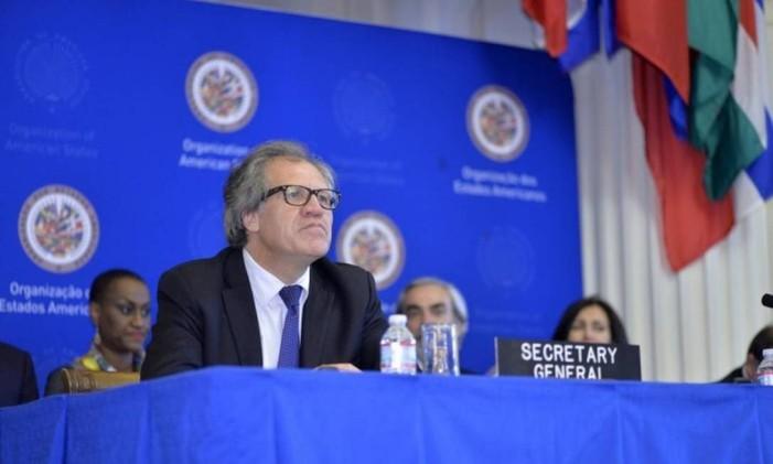 Luis Almagro, secretário-geral da Organização dos Estados Americanos (OEA) Foto: Divulgação / OEA