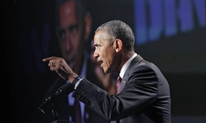 O presidente dos EUA, Barack Obama Foto: Bob Andres / AP