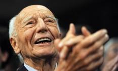 Walter Scheel, ex-presidente da Alemanha Ocidental Foto: Hannibal Hanschke / AP