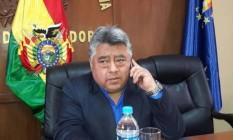 Governo da Bolívia confirmou sequestro de vice-ministro do Interior, Rodolfo Illanes Foto: Reprodução