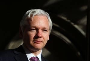 Julian Assange, fundador do Wikileaks Foto: Geoff Caddick / AFP