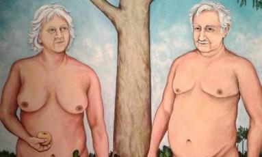 'Génesis Uruguay', do artista plástico Julio de Sosa Foto: Reprodução