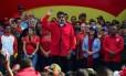 Nicolás Maduro afirma que irá pessoalmente ao encontro que iniciará processo de diálogo entre o governo venezuelano e a oposição Foto: Ronaldo Schemidt / AFP