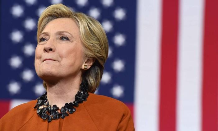 A candidata democrata Hillary Clinton Foto: Jewel Samad / AFP