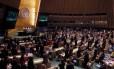 Assembleia Geral da ONU Foto: Brendan McDermid / Reuters