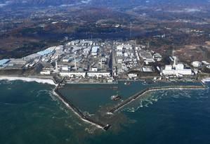 Usina nuclear de Fukushima Foto: AP
