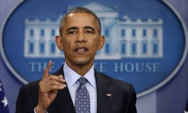 O presidente dos Estados Unidos, Barack Obama Foto: Pablo Martinez Monsivais / AP