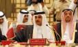 O emir do Qatar, Sheikh Tamim bin Hamad al-Thani