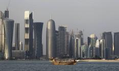 Distrito financeiro de Doha Foto: Saurabh Das / AP