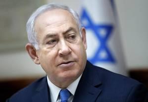 O premier israelense, Benjamin Netanyahu Foto: Thomas Coex / AP