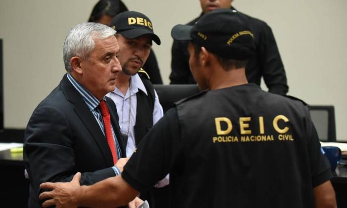 O ex-presidente guatemalteco Otto Pérez Molina Foto: JOHAN ORDONEZ / AFP