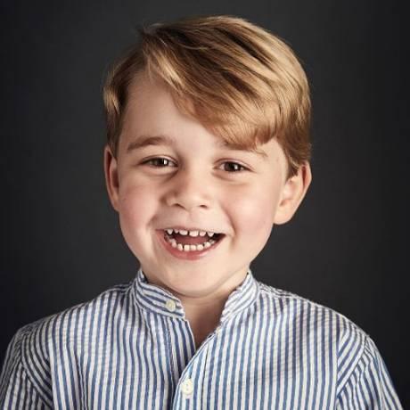 Príncipe George faz quatro anos neste sábado Foto: Reprodução/Instagram