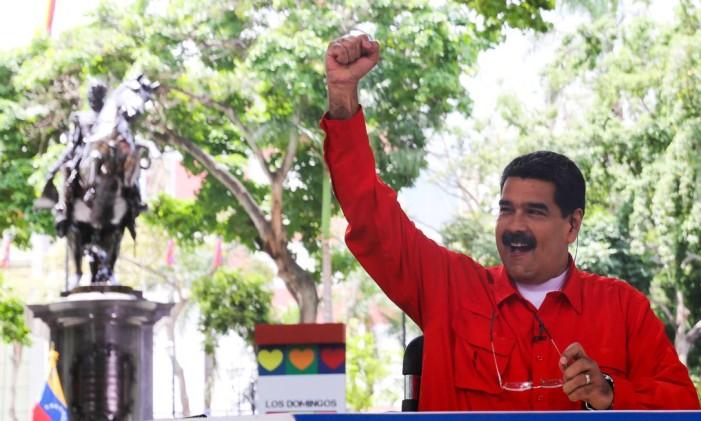 Presidente Nicolás Maduro lança versão de 'Despacito' para promover Constituinte Foto: HANDOUT / REUTERS