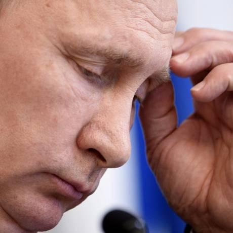 O presidente russo Vladimir Putin Foto: LEHTIKUVA / REUTERS