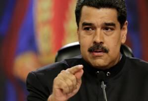 O presidente da Venezuela, Nicolás Maduro Foto: Marco Bello / REUTERS