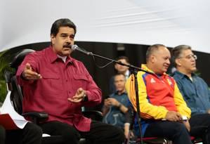 O presidente da Venezuela, Nicolás Maduro Foto: HO / AFP
