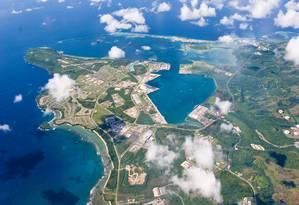 Vista aérea de Guam Foto: HANDOUT / REUTERS