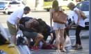 Ferido em atropelamento em Barcelona recebe assistência Foto: Oriol Duran / AP