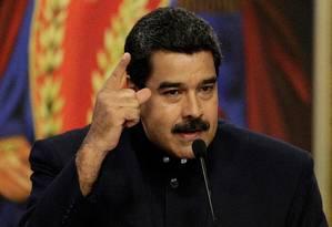 O presidente venezuelano, Nicolás Maduro Foto: MARCO BELLO / REUTERS