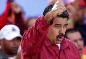 O presidente da Venezuela, Nicolás Maduro Foto: UESLEI MARCELINO / REUTERS