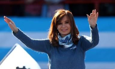 A ex-presidente argentina Cristina Kirchner Foto: MARCOS BRINDICCI / REUTERS