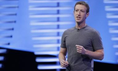 O CEO do Facebook, Mark Zuckerberg Foto: Eric Risberg / AP