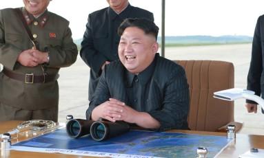 O líder da Coreia do Norte, Kim Jong-un Foto: KCNA / AP