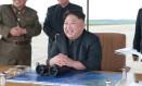 O líder norte-coreano, Kim Jong-un Foto: KCNA / AP