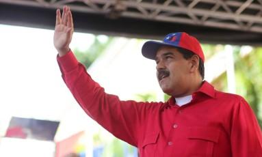 O presidente da Venezuela, Nicolás Maduror Foto: HANDOUT / REUTERS