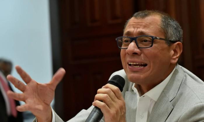 Justiça autoriza prisão preventiva do vice-presidente do Equador