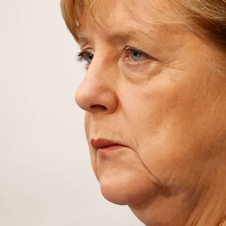 A chanceler alemã, Angela Merkel Foto: ODD ANDERSEN / AFP
