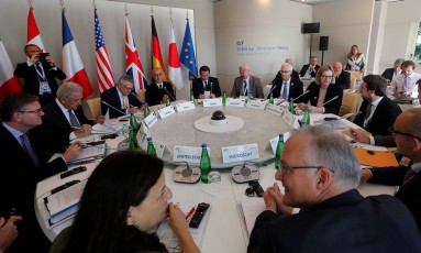 Ministros do Interior do G7 se reúnem para debater combate ao terrorismo Foto: CIRO DE LUCA / REUTERS