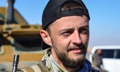 Jac Holmes, britânico de 24 que lutava junto a milícia curda YPG na Síria contra Estado Islâmico Foto: Reprodução