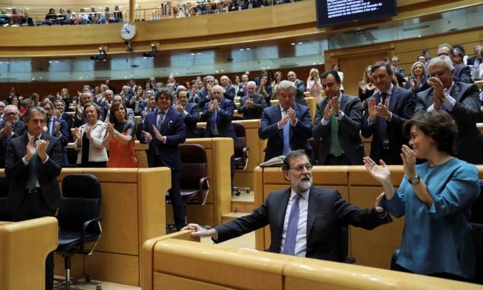 Aprovada declaração unilateral de independência — Catalunha