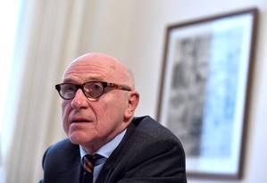 Paul Bekart, advogado belga contratado pelo líder catalão destituído, Carles Puigdemont Foto: ERIC VIDAL / REUTERS