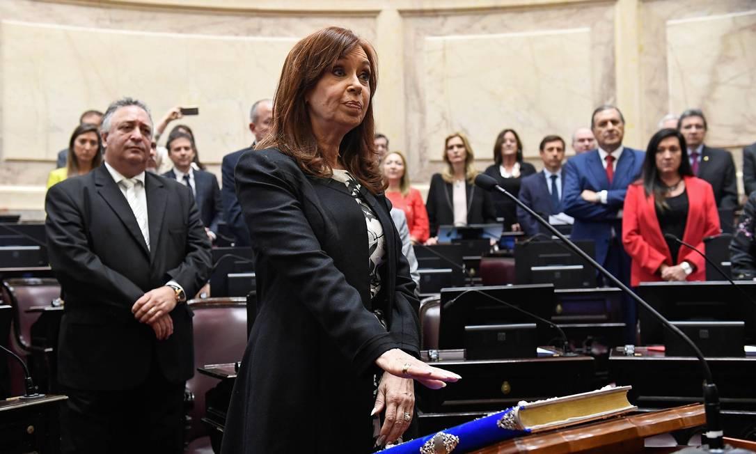 Justiça argentina pede prisão de Cristina Kirchner