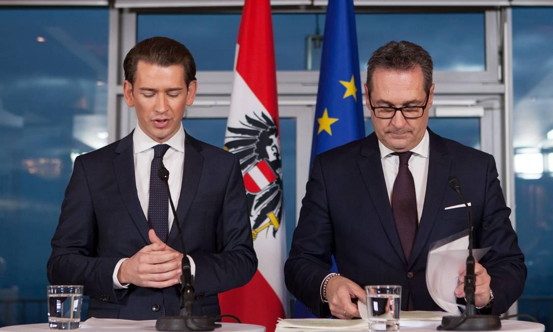 Líder de extrema-direita na Áustria descarta referendo para sair da UE