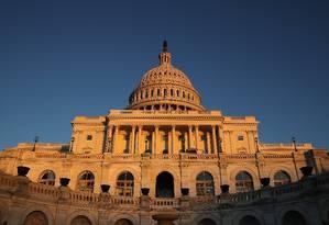 O Capitólo, em Washington, sede do Congresso americano Foto: WIN MCNAMEE / AFP