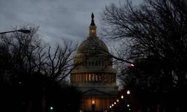 Cúpula do capitólio, sede do Congresso americano Foto: JOSHUA ROBERTS / REUTERS