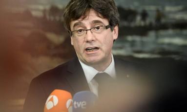 O líder separatista catalão, Carles Puigdemont Foto: SCANPIX DENMARK / REUTERS