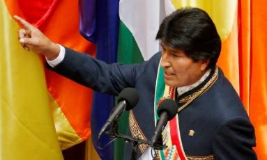 O presidente boliviano Evo Morales Foto: DAVID MERCADO / REUTERS