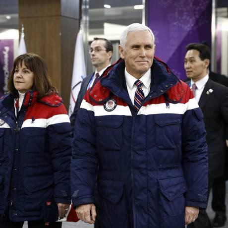 O vice-presidente americano Mike Pence Foto: Patrick Semansky / AP