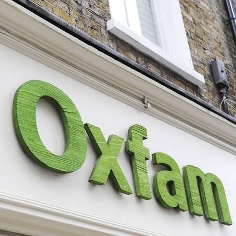 Agência da Oxfam em Londres Foto: Nick Ansell / AP