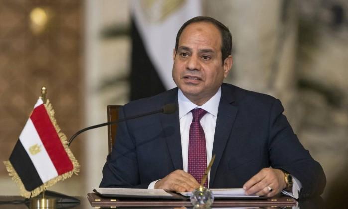 O presidente do Egito Abdel Fattah el-Sissi- Alexander Zemlianichenko  AP
