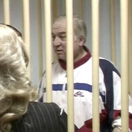 Skripal, ex-coronel do serviço de inteligência russo, condenado por conceder informações ao Reino Unido Foto: REUTERS TV / REUTERS