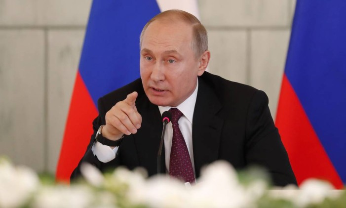 O presidente russo Vladimir Putin Foto: POOL / REUTERS